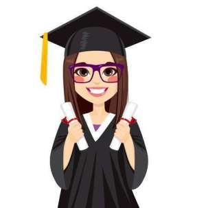 ad41dee951744c02275a55c7ea91cc0d_library-of-girl-graduate-clipart-black-and-white-stock-png-files-_450-450
