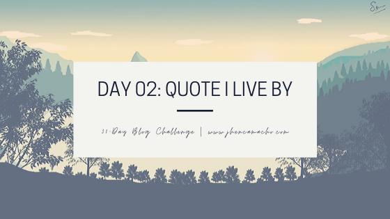 Day 2 - Quote
